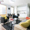 "Moder, sunny apartment 39 sqm in cozy investment ""Apartamenty przy Bulwarze"" on Masarska 15 St"