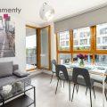 Przytulne, stylowe mieszkanie z oddzielną sypialnią przy ul. Romanowicza 5