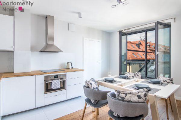 """Nowoczesne, klimatyzowane mieszkanie 36 m2 z osobną sypialnią w prestiżowej inwestycji """"Wawrzyńca 19"""""""