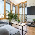 """Słoneczne, przytulne mieszkanie 44 m2  z osobną sypialnią w atrakcyjnej inwestycji """"Apartamenty przy Bulwarze"""""""