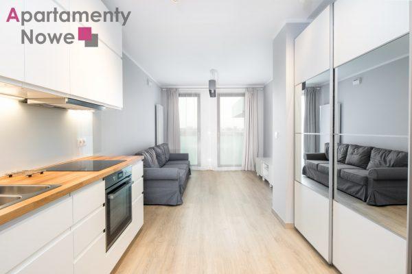 """Nowe, jasne mieszkanie typu studio 30 m2 w nowej inwestycji """"Cystersów Garden"""" przy ul.Cystersów 20"""