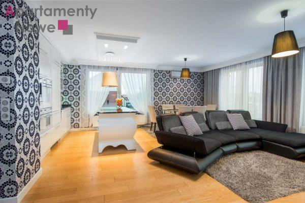 """Przestronny, stylowy apartament 78 m2 z dwiema sypialniami oraz dużym tarasem  """"Bronowice Residence"""" ulica Chełmońskiego"""