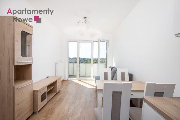 """Jasne mieszkanie z osobną sypialnią 37m2 obok Ronda Matecznego w nowej inwestycji """"Konopnicka City Park"""""""