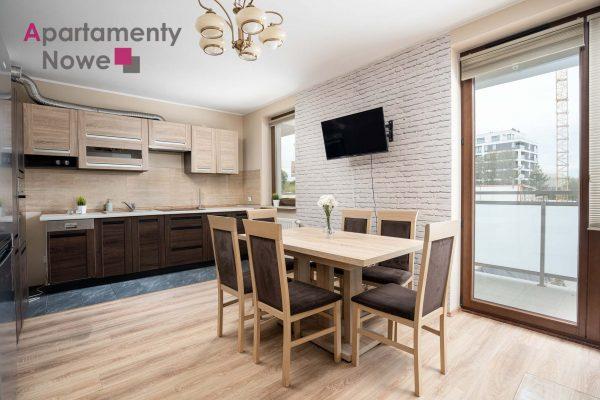 The spacious one- bedroom apartment 48 sqm on Dąbska 20 C St.