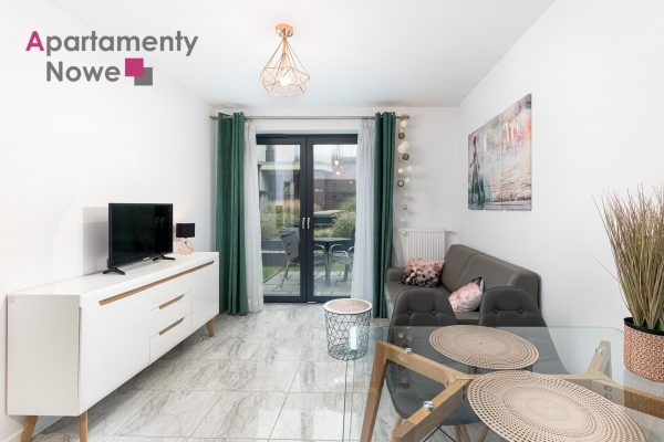 A functional, cozy one-bedroom apartment 45 sqm with garden in modern investment Wawrzyńca 19 Kazimierz district
