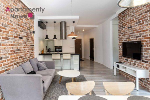 """Nowoczesne, przestronne mieszkanie 61 m2 z osobną sypialnią w  inwestycji """"Apartamenty Novum"""" przy ul. Rakowickiej 20"""
