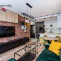 Nowoczesne, klimatyzowane mieszkanie 63 m2 z dwiema sypialniami  w nowej inwestycji Mogilska Tower 2