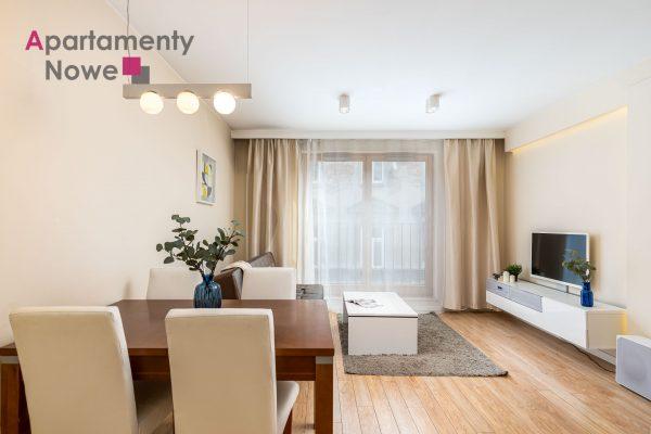 """Jasne, funkcjonalne mieszkanie 45 m2 z osobną sypialnią w luksusowym kompleksie """"Browar Lubicz"""""""