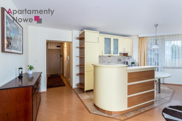 Spacious one bedroom apartment of 58 sqm with balcony at Fiołkowa Street