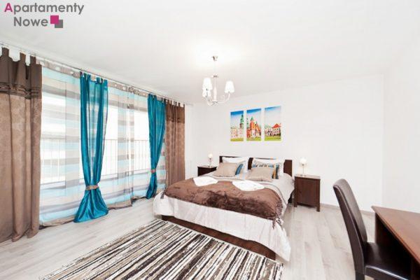 """Przestronny, funkcjonalny apartament  97 m2 z dwoma sypialniami w prestiżowej inwestycji """"Apartamenty Nadwiślańska 11"""""""