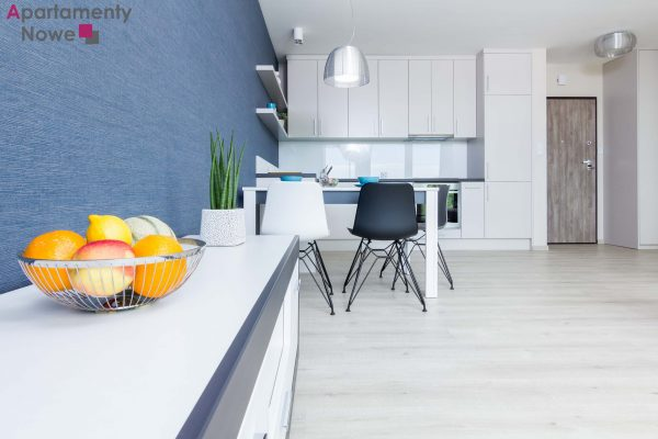 """Modern, air-conditioning one - bedroom apartment of 48 sqm in cozy investment """"Kamienica Pilotów 29"""""""