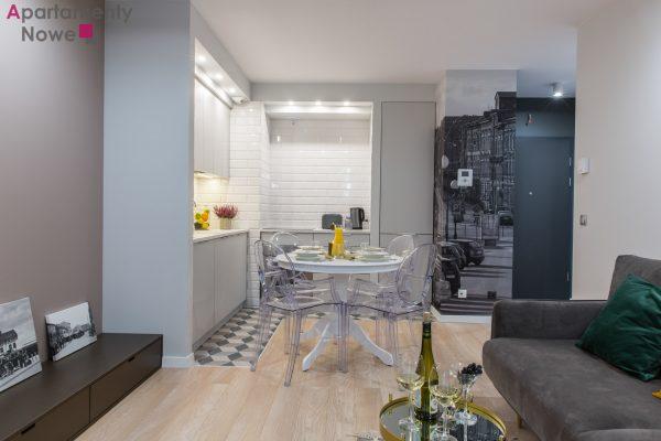 Wyjątkowe, klimatyzowane mieszkanie 43 m2  z osobna sypialnią w sercu Kazimierza przy ul.Wawrzyńca 21