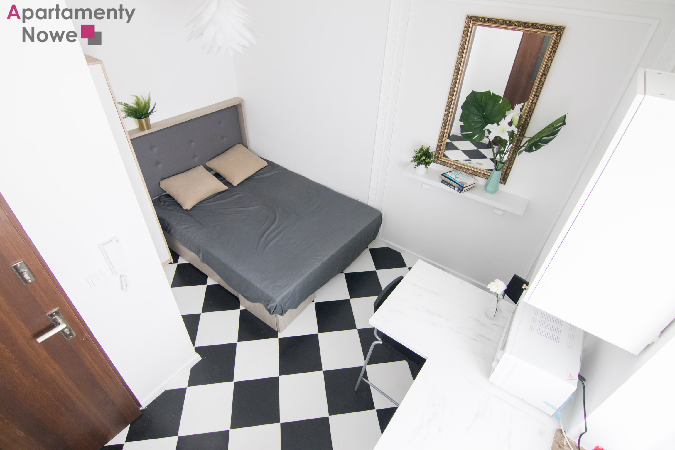 Nowy Przytulny Mini Apartament 15 Mkw W Pobliżu Stacji Pkp łobzów