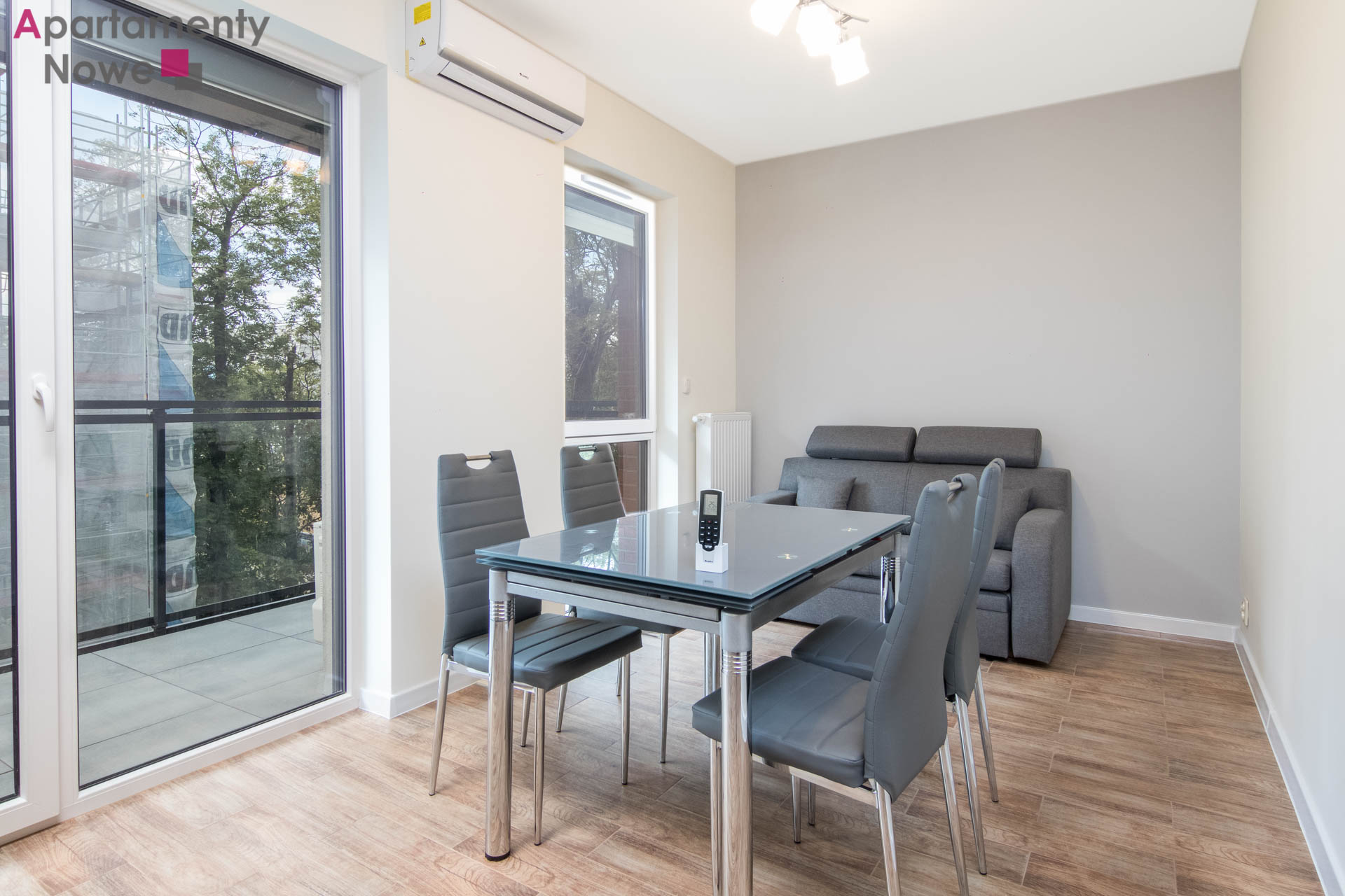 Functional two-bedroom apartment 44 sqm in a new ...