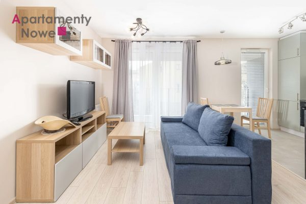 Brand new one-bedroom apartment 40 sqm in a new cozy investment in city center at Słomnicka street